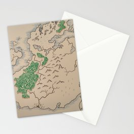 Map 1 Stationery Cards