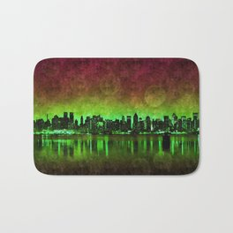 NYC Surreal Green Bath Mat
