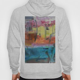 Cold drinks on the table Hoody