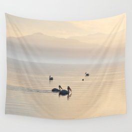 MYSTERIOUS SALTON SEA Wall Tapestry