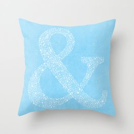 Ampersand of Ampersands Throw Pillow