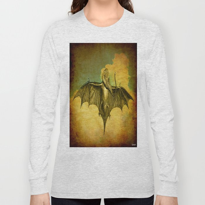 Bat - Elephant  Long Sleeve T-shirt