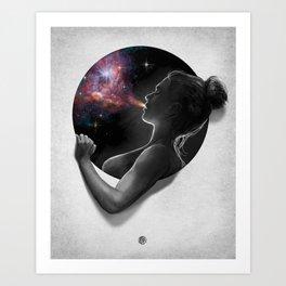 Breath : Porthole Series Art Print