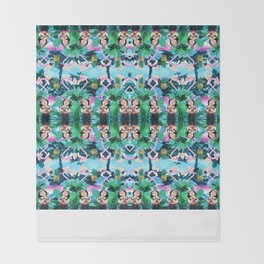 Club tropicana Throw Blanket
