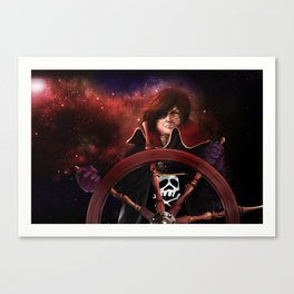 Captain Harlock Canvas Print
