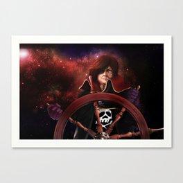 Captain Harlock Canvas Print