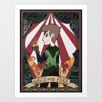 roosterteeth Art Prints featuring Gavin Free Print by sonnibun