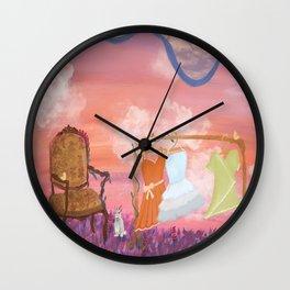 Enchanted Meadow Wall Clock
