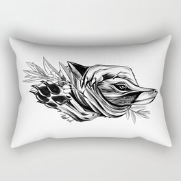 Wild Fox Rectangular Pillow