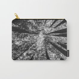 Up Above (Black and White) Carry-All Pouch