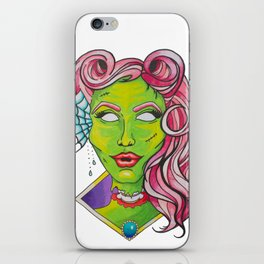 Zombie Pinup iPhone Skin