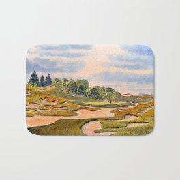 Whistling Straits Golf Course Hole 6 Bath Mat