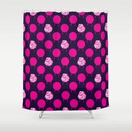 Girl Almighty Shower Curtain