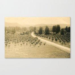 Umpqua Valley, Pacific Highway, Oregon Canvas Print