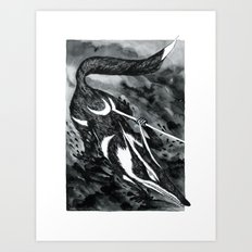 Hunters #2 Art Print
