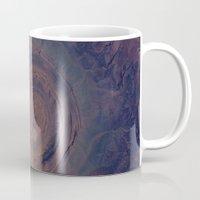 nasa Mugs featuring eye in the sky, eye in the desert (nasa #01) by _mackinac