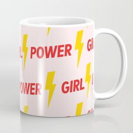 GIRL POWER - GRL PWR 9 // Pattern Coffee Mug