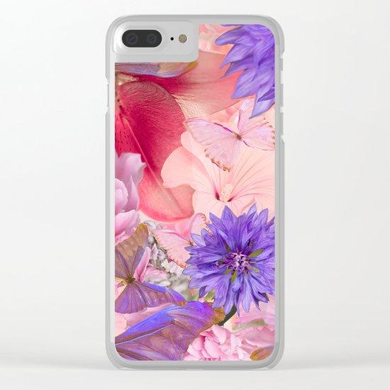 My Day In Fantasy Garden - #society6 #buyart Clear iPhone Case