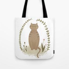 Nature Cat Tote Bag