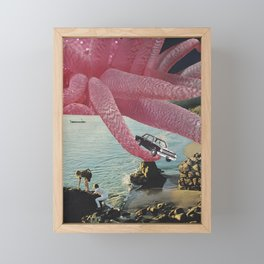 Pinky Framed Mini Art Print