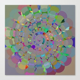 ChromaSwirl Canvas Print