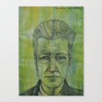 lynch Canvas Prints featuring Lynch by musentango87