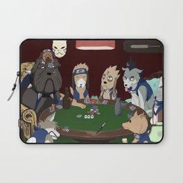 Kakashi Ninken Poker Dogs Laptop Sleeve