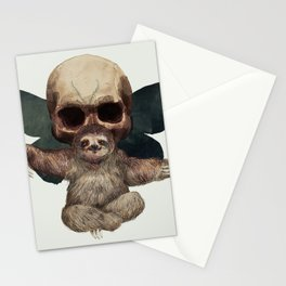 Sloths, Goths, and Moths Stationery Cards