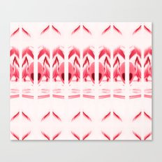 SPIRIT PATTERN #2 #Red Canvas Print