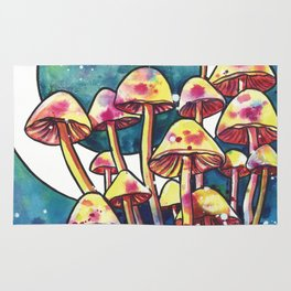 Mushroom Patch Rug
