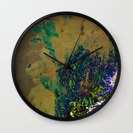On Paper Wall Clock