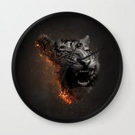 XTINCT x Tiger Wall Clock
