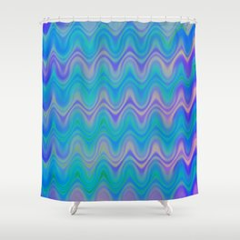 Agate Wave Lilac - Mineral Series 003 Shower Curtain