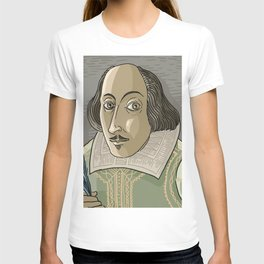 great shakespeare english writer T-shirt