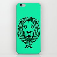 the lion king iPhone & iPod Skins featuring Lion King by ArtSchool