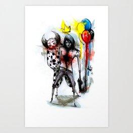 Clown Fun Art Print