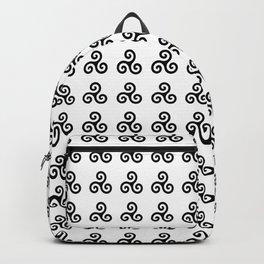 Triskele 1 -triskelion,triquètre,triscèle,spiral,celtic,Trisquelión,rotational Backpack