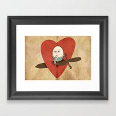 the lover Framed Art Print