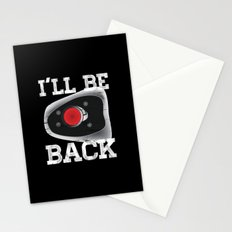 I'll be back Stationery Cards