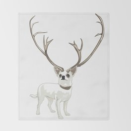 The Chihuahualope Throw Blanket