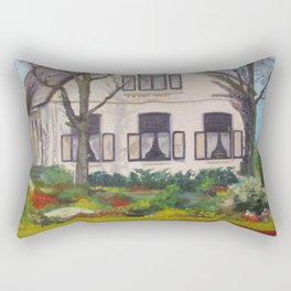 Tulip Cottage Rectangular Pillow