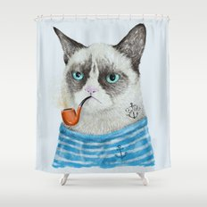 Sailor Cat I Shower Curtain