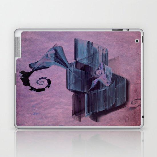 Spiral abstract Laptop & iPad Skin