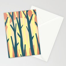 trees against the light 2 Stationery Cards