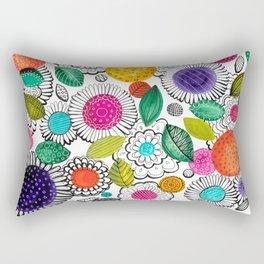 Floral Fun Rectangular Pillow