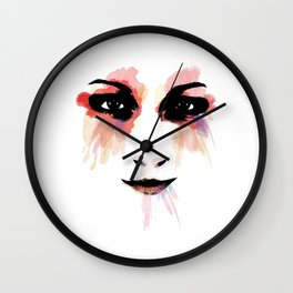 Looking to my eyes Wall Clock