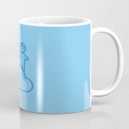 Couple in the clouds Coffee Mug