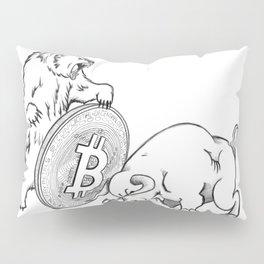 Bitcoin Pillow Sham