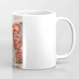 Deep in the fall forest Coffee Mug