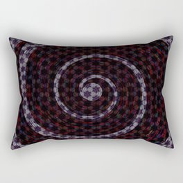 Abstract Vortex Pattern Rectangular Pillow